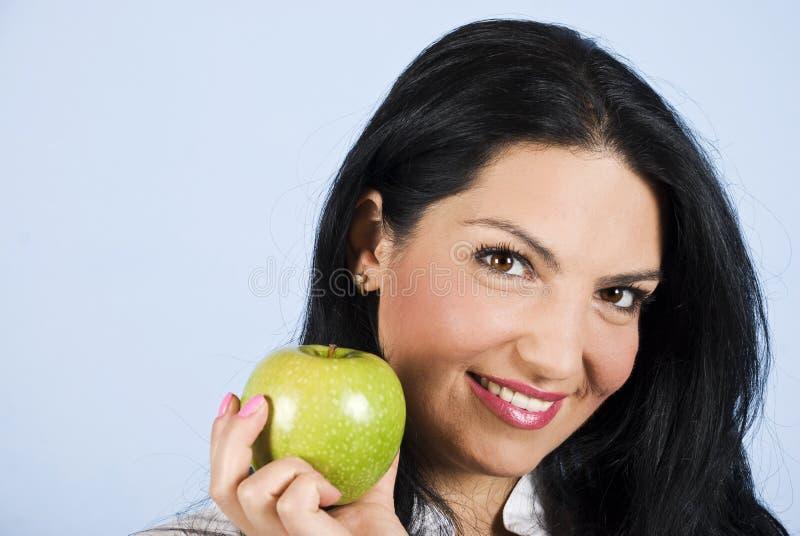 Gesunde Lebenfrau stockfoto