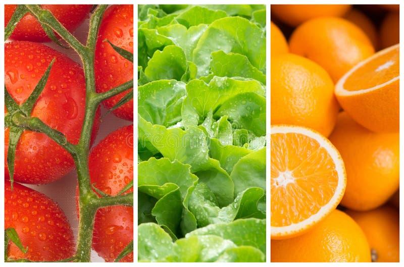 Gesunde Lebensmittelhintergründe lizenzfreies stockbild