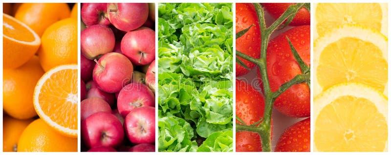 Gesunde Lebensmittelhintergründe stockbilder