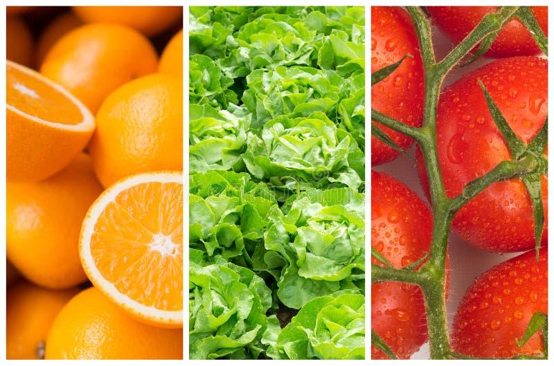 Gesunde Lebensmittelhintergründe lizenzfreie stockfotos