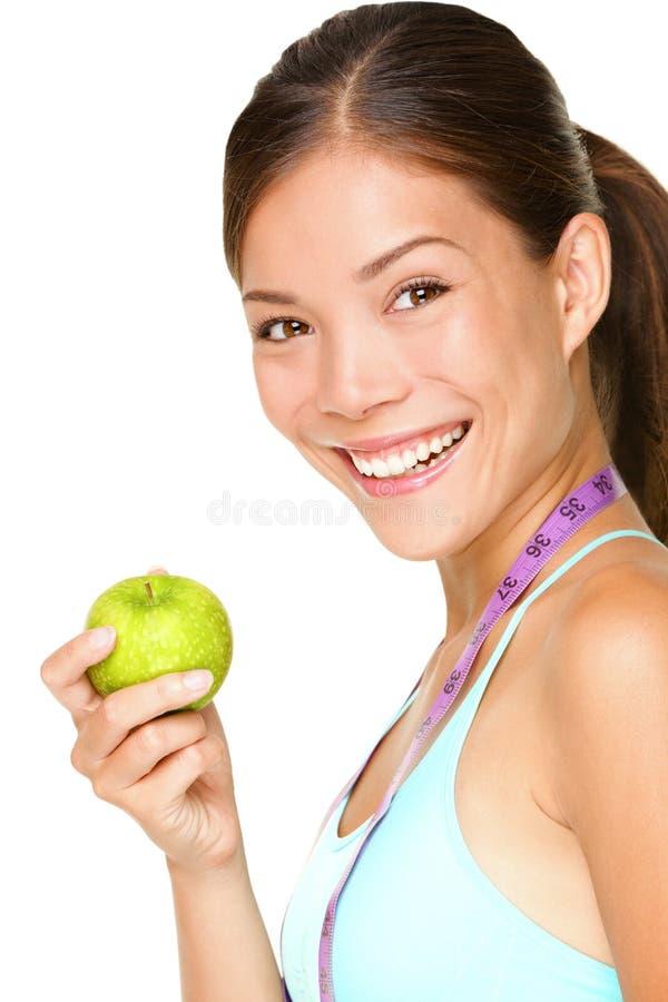 Gesunde Lebensstilfrau lizenzfreies stockfoto