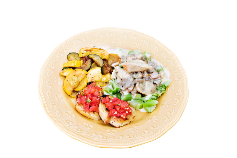 Gesunde Mahlzeit stockbilder