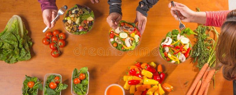Gesunde Mahlzeit-Planung lizenzfreies stockfoto