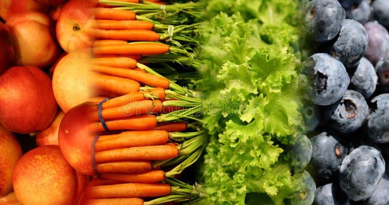 Gesunde Nahrungsmittel stockfotografie