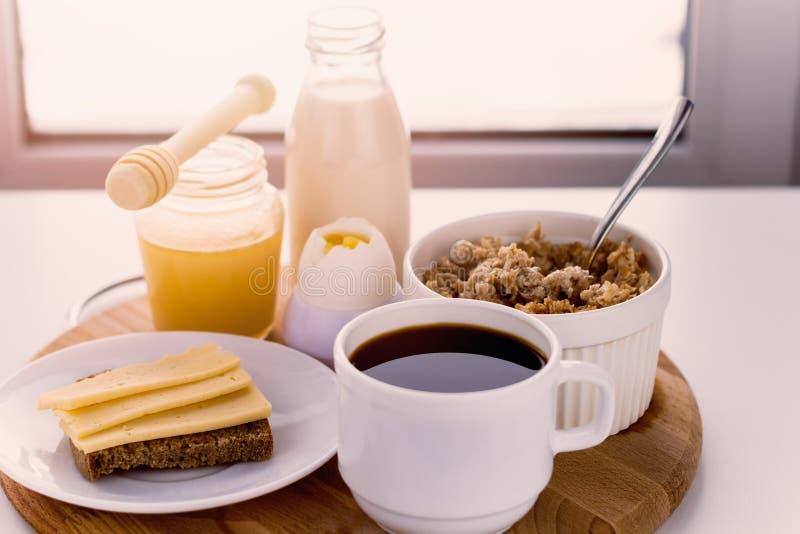 Gesunde Nahrungsmittel für breakfas lizenzfreie stockfotografie