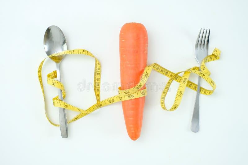 Gesunde Nahrungsmitteldiät wiegen Ketogenic Diät des Verlustkonzeptes stockbilder