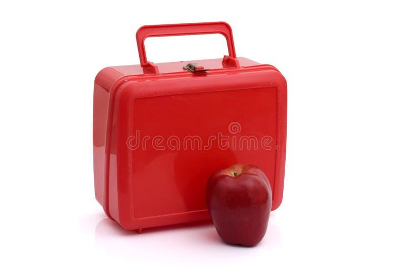 Gesunde Schulmahlzeit stockbild