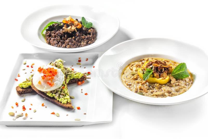 Gesunde und richtige Nahrung stockfotografie