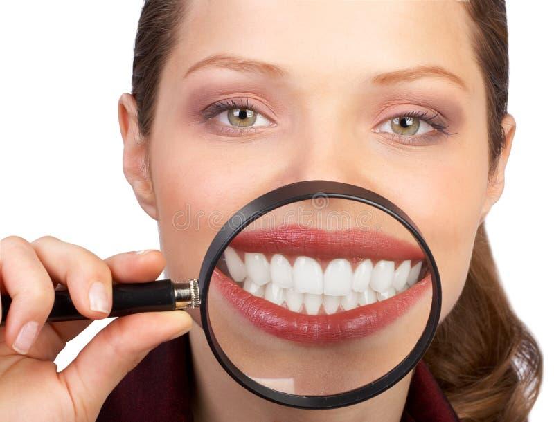Gesunde Zähne stockbilder