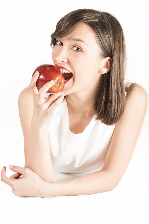 Gesunden Snackbruch haben lizenzfreie stockfotos