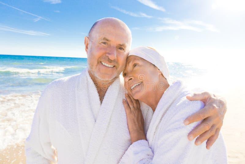 Gesunder Älterer lizenzfreie stockfotos