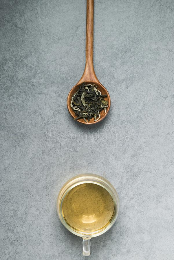 Gesunder chinesischer Tee, Teezeremonie lizenzfreies stockbild