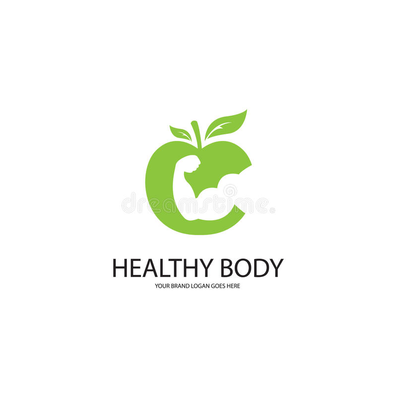 Gesunder Körper stock abbildung