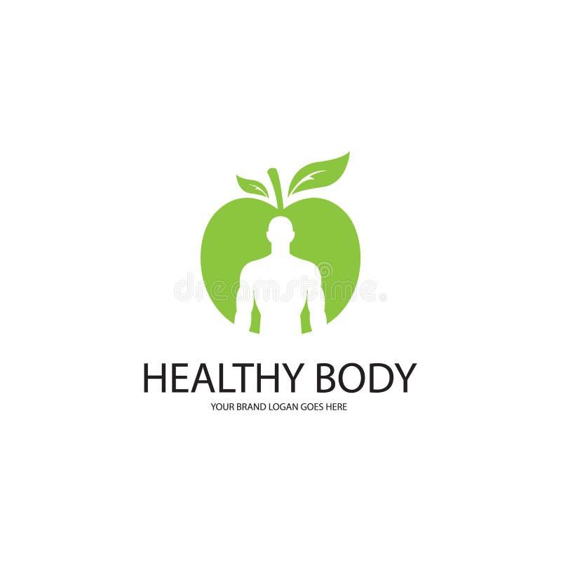 Gesunder Körper lizenzfreie abbildung
