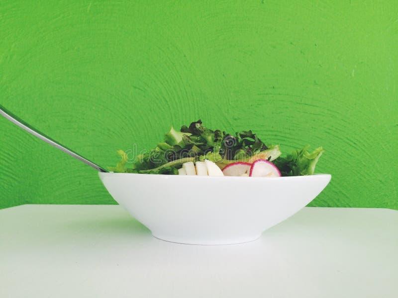 Gesunder Salat stockbild