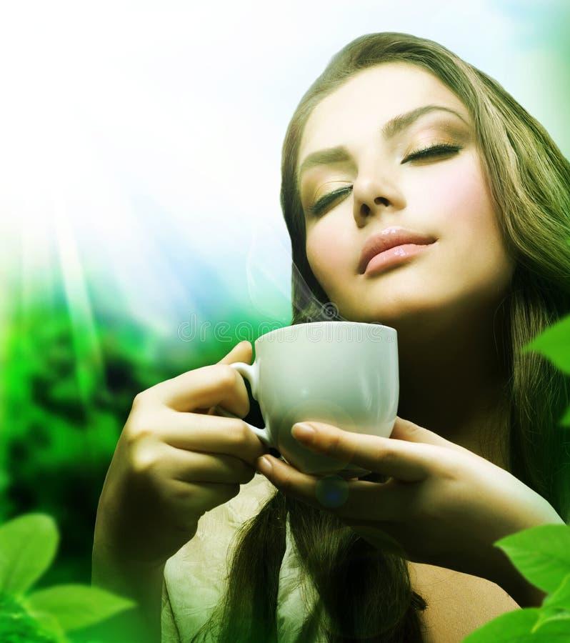 Gesunder Tee lizenzfreie stockfotografie