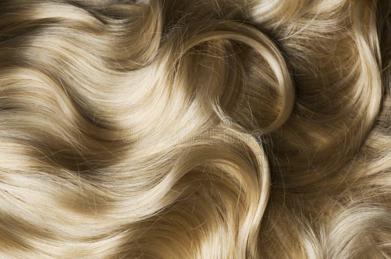 Gesundes blondes Haar lizenzfreies stockfoto