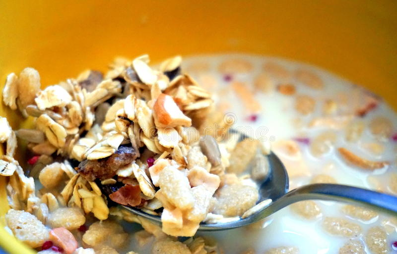 Gesundes Frühstück stockfotografie