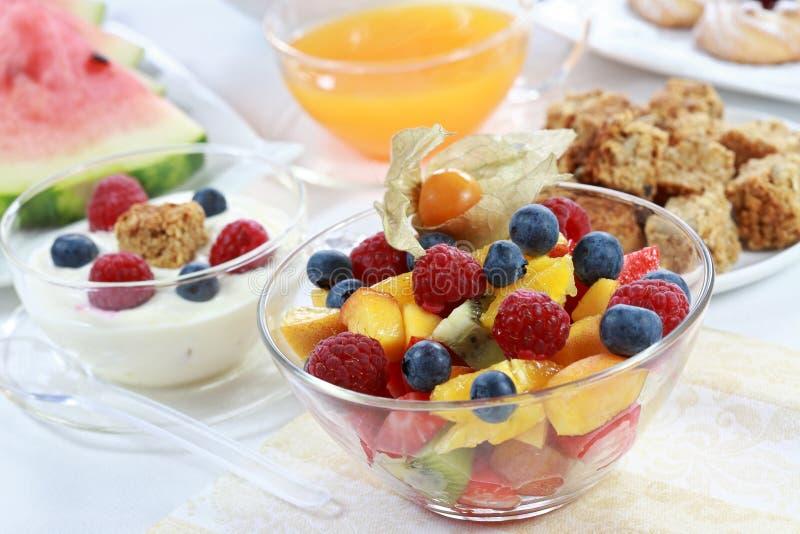 Gesundes Frühstück oder Imbiß stockbild