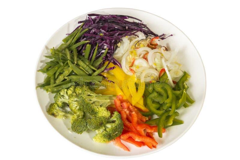 Gesundes Gemüse Benutzt, Wenn Chop Suey Gemacht Wird Stockbild ...