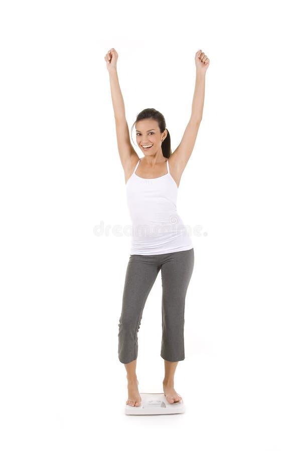 Gesundes Gewicht lizenzfreies stockfoto