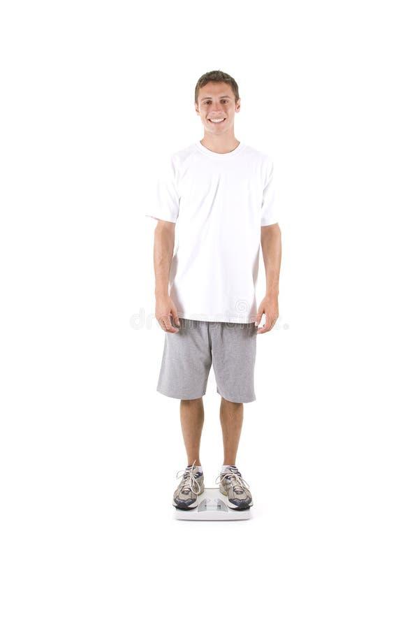 Download Gesundes Gewicht stockbild. Bild von holding, gesundheit - 12202435