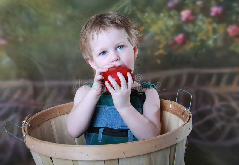 Download Gesundes Kind stockfoto. Bild von toddler, gesund, frucht - 9091086