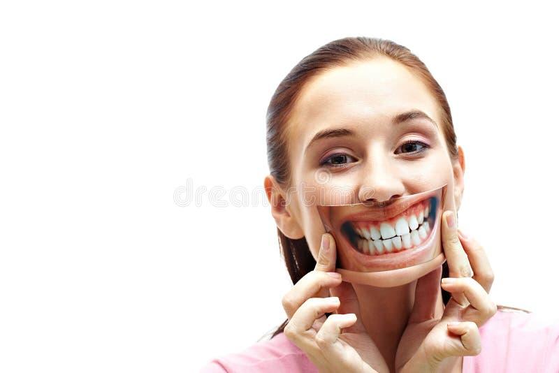 Gesundes Lächeln stockfotos
