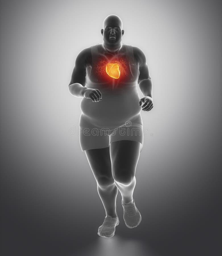 Gesundes Lebensstilkonzept vektor abbildung