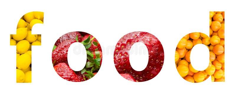 Gesundes Nahrungsmittelkonzept stockbild