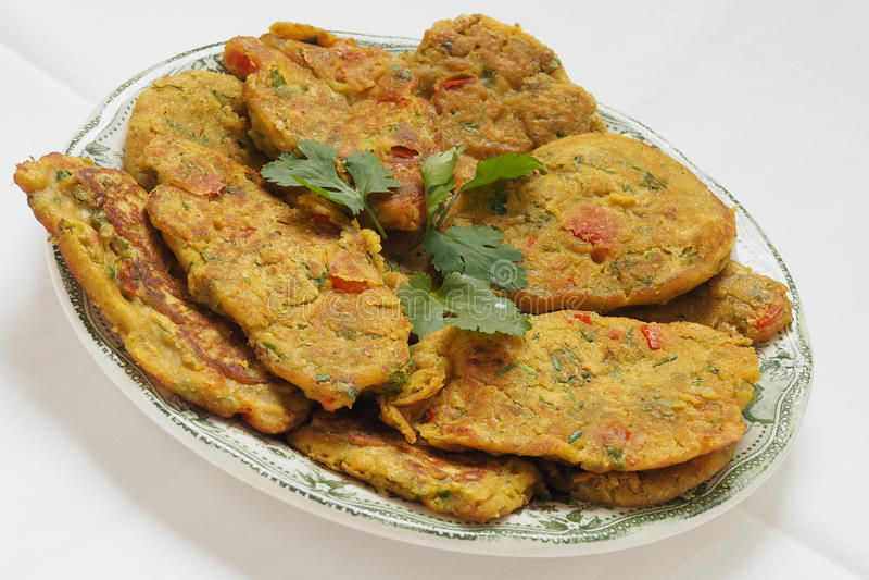 Gesundes Omelett des strengen Vegetariers lizenzfreie stockbilder