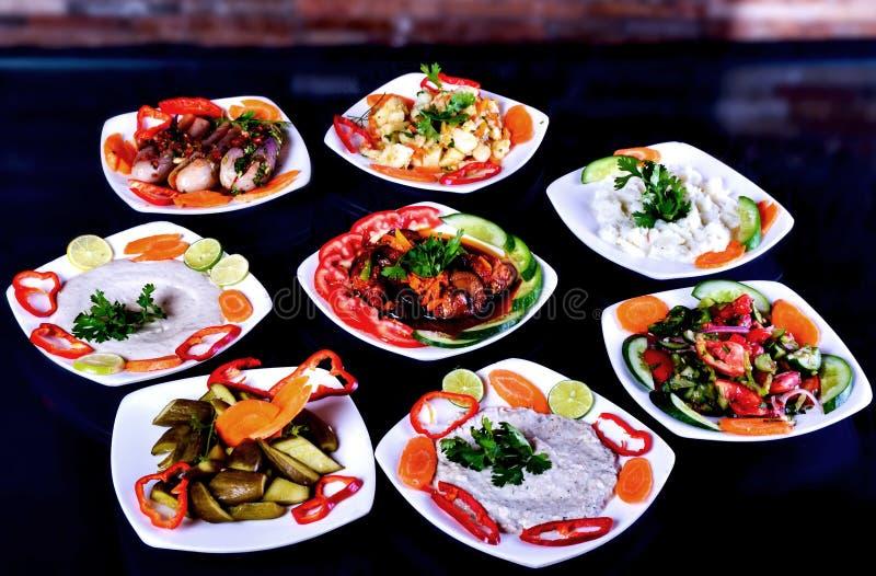 Gesundes Salat apeetizer lizenzfreies stockfoto