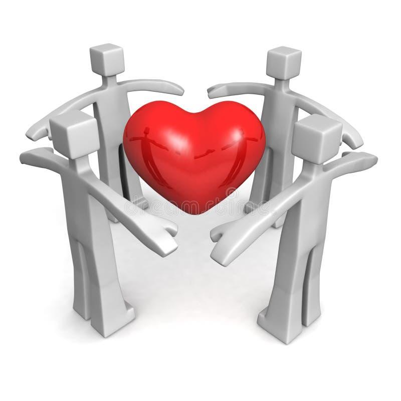 Gesundheit und medizinisches Konzept stock abbildung