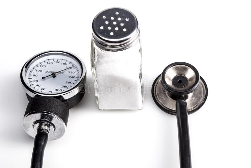 Gesundheit und Salz lizenzfreies stockfoto