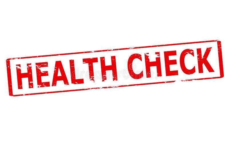 Gesundheits-Check vektor abbildung