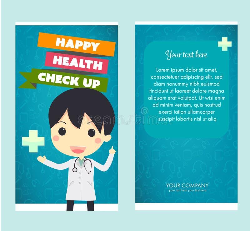 Gesundheits-Check oben stock abbildung