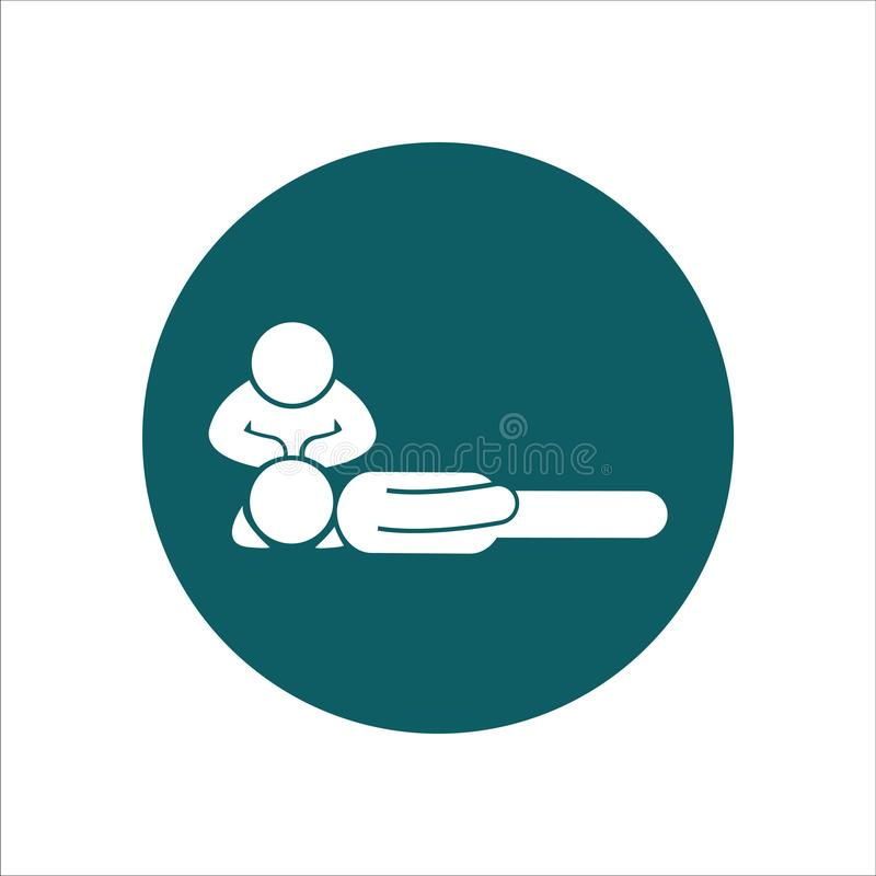 Gesundheits-Ikonen-Vektor Ilustrations-erste Hilfe lizenzfreie abbildung