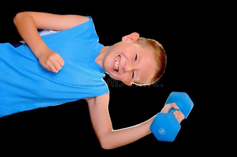 Gesundheits-und Eignung-Junge stockfotos