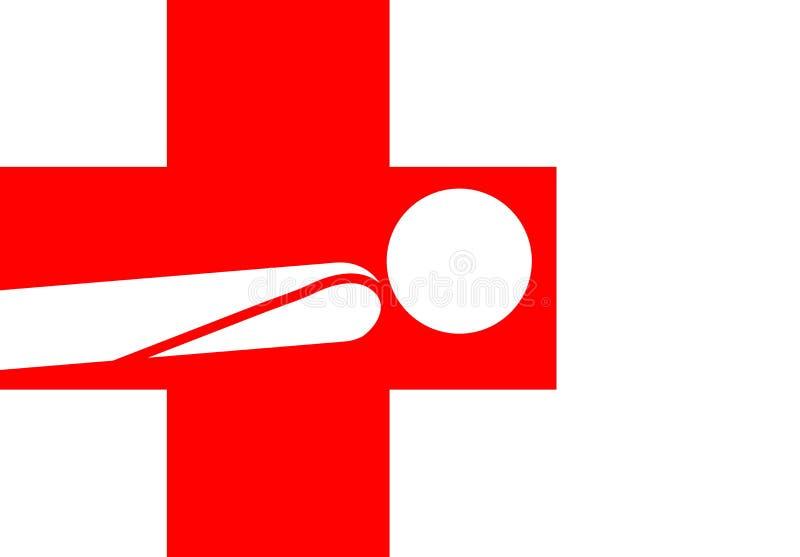 Gesundheitspflege stock abbildung