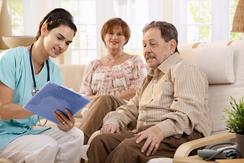 Gesundheitspflege zu Hause stockfotos