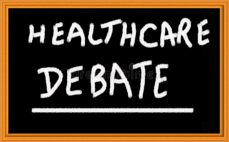 Gesundheitspflegedebatte lizenzfreie stockfotos