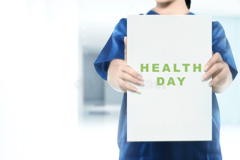Gesundheitstageskonzept lizenzfreies stockbild
