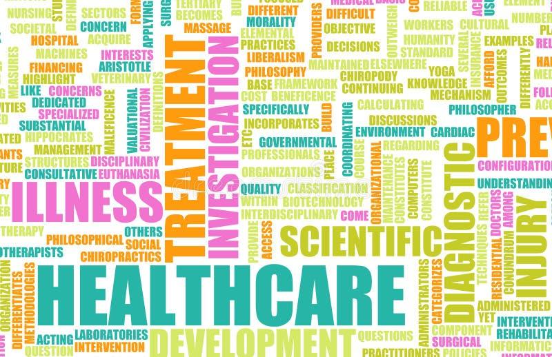 Gesundheitswesen lizenzfreie abbildung