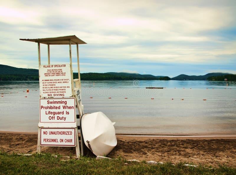 Geszefciarz plaża, zdjęcia stock