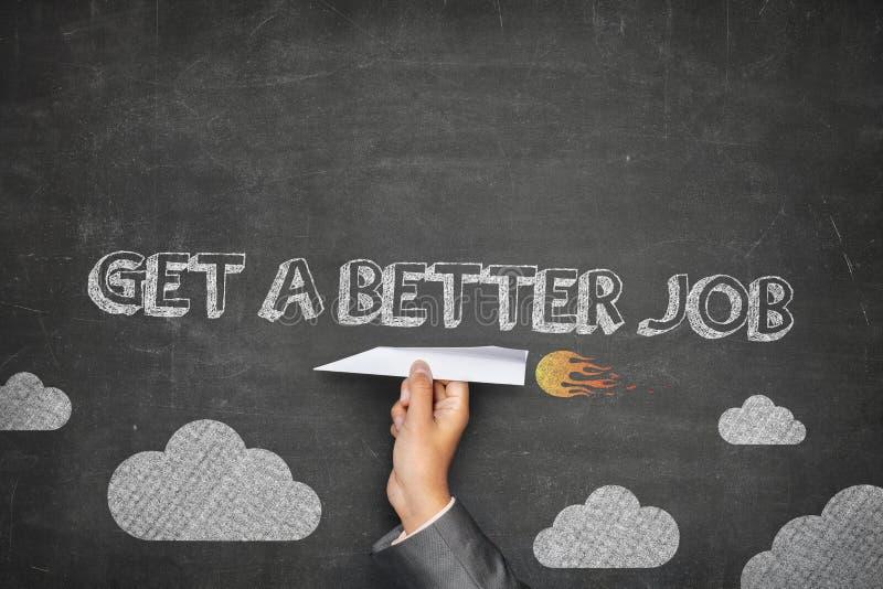 Get a better job concept stock photos