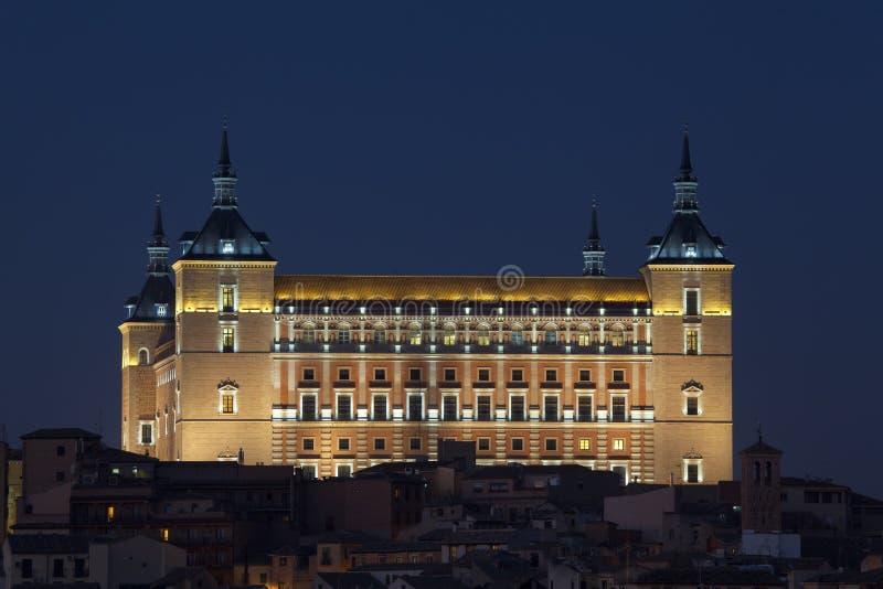 Get Dark In The Alcazar Of Toledo Royalty Free Stock Image