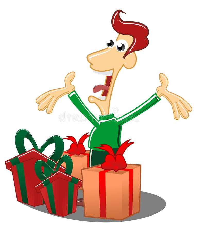 Download Get a gift stock illustration. Illustration of gift, good - 22159809