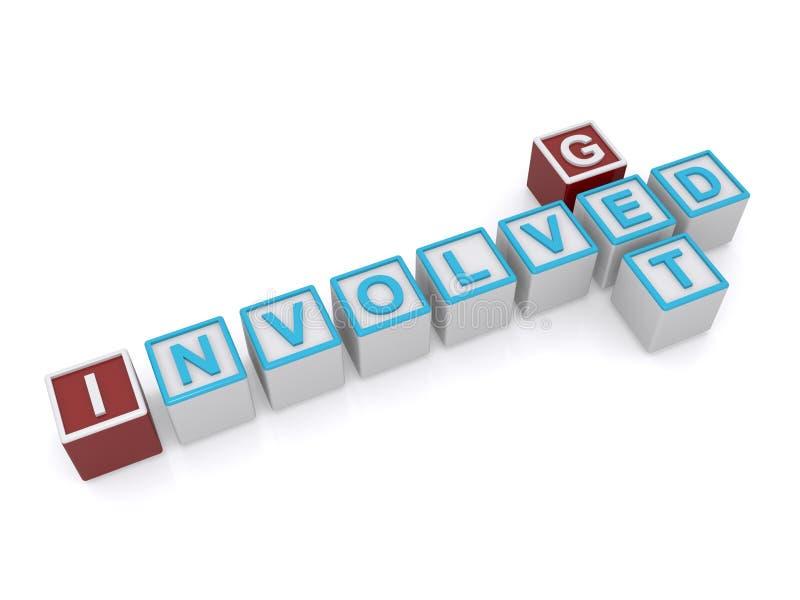 Get involved sign vector illustration