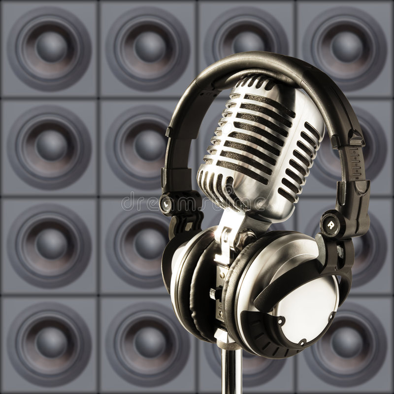 Get Loud! royalty free stock photo