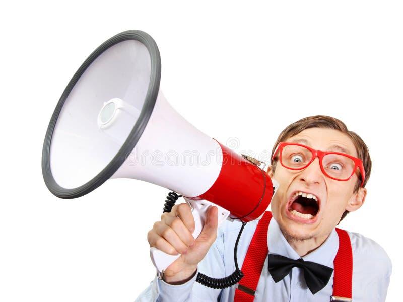 Get loud stock image